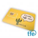 SIM karta Kaktus vhodná do iQGSM