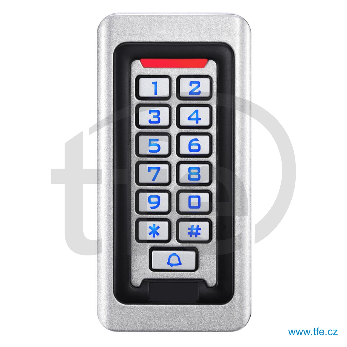 Venkovní přístupový systém s klávesnicí a čtečkou RFID ACK3W