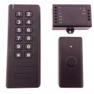 Bezdrátový bateriový přístupový systém s klávesnicí a čtečkou přívěsků, ARF9A