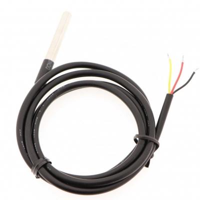 Teplotní čidlo Dallas DS18B20, vodotěsné, kabel 1 metr
