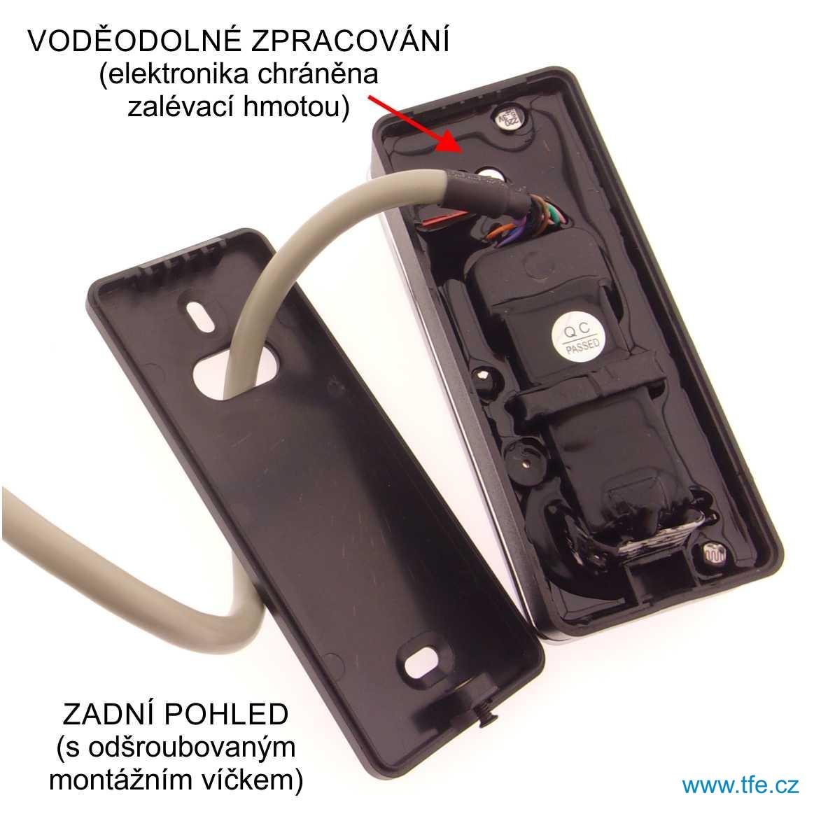 Přístupový systém s optickou čtečkou otisku prstů FCK10