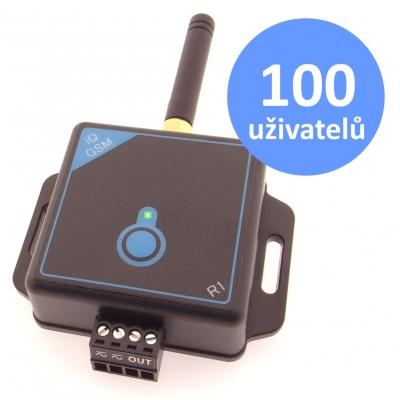 GSM klíč iQGSM-R1 pro 100 uživatelů
