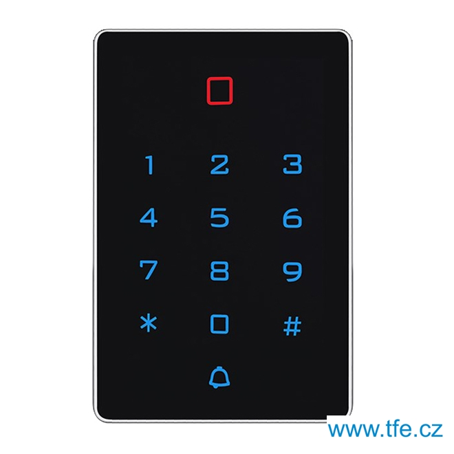 Přístupový systém KT12M s dotykovou klávesnicí a čtečkou RFID