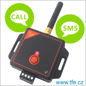 GSM komunikátor, GSM alarm, pager iQGSM-A1
