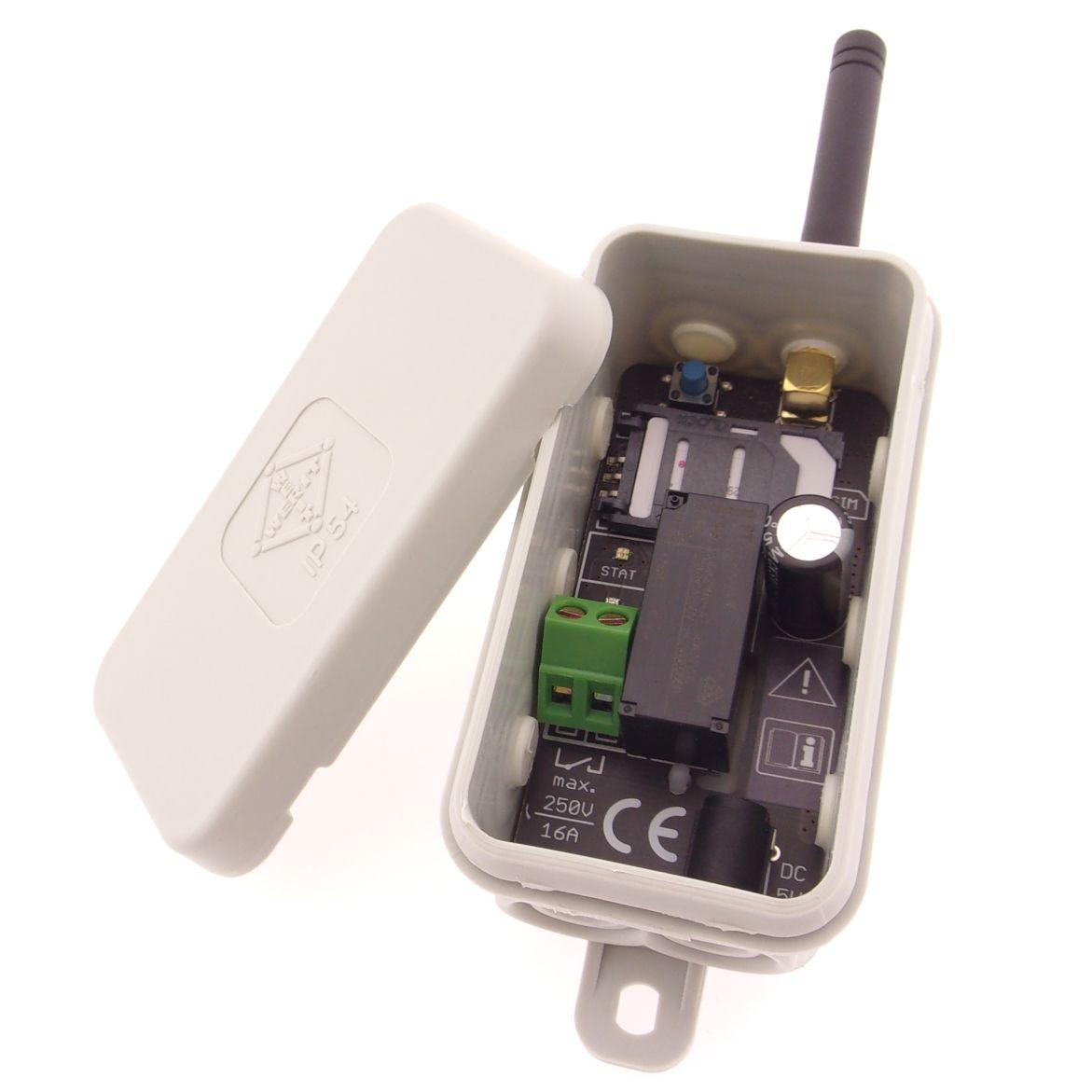 Výkonové GSM relé, GSM spínač 250V/16A iQGSM-P1